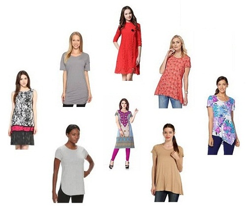 Short Tunics for Men and Women