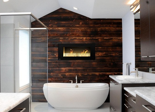 Accent walls for bathroom