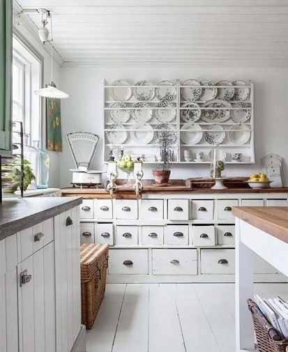 Apothecary Designed kitchen cabinets