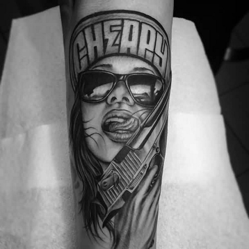 9 Powerful & Ugly Gangster Tattoo Designs