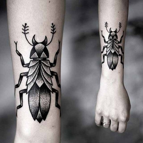 9 Most Beautiful Insect Tattoos For Women And Men