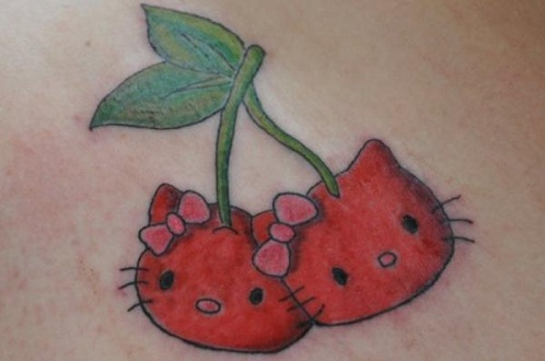 Best Casual Cherry Tattoo