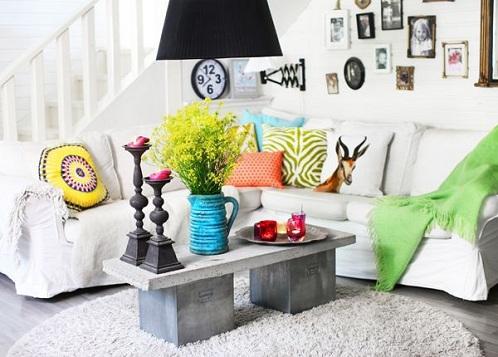 bold and bright design