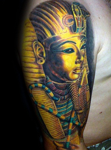 9 Best and Stylish King Tut Tattoo Designs | Styles At Life