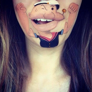 CREATIVE STYLE LIP TATTOOS