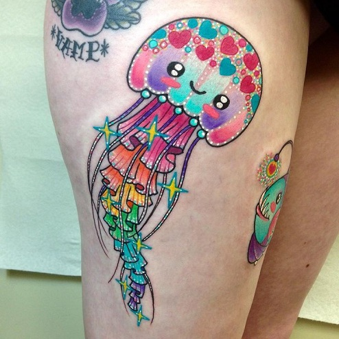 jellyfish tattoos