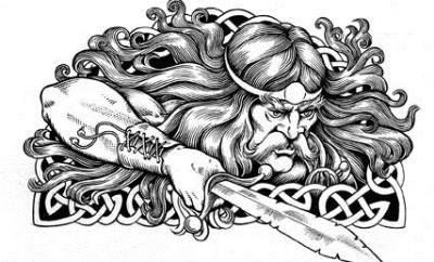 tribal celtic tattoo