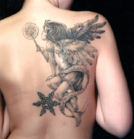 cherub tattoos