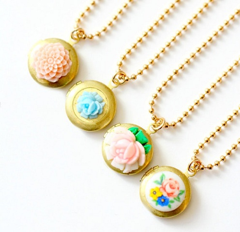 Children's Flower Locket