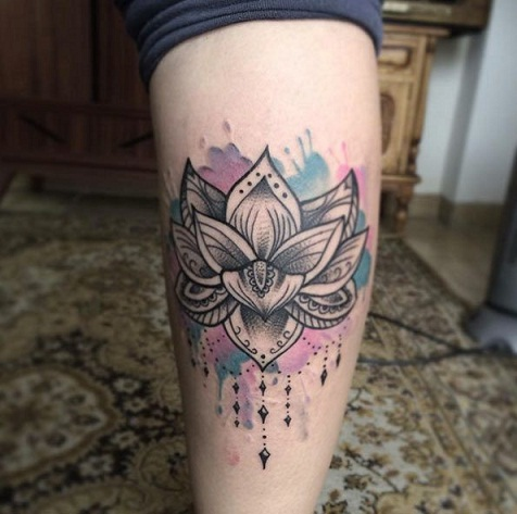 50fed309ba477 Top 15 Best Calf Tattoo Designs for Women and Men