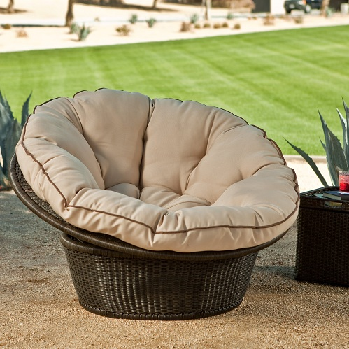Comfortable cushion balcony chairs