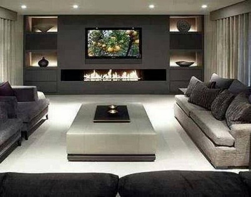 9 Modern and Best Ideas for Living Hall Designs | Styles At Life
