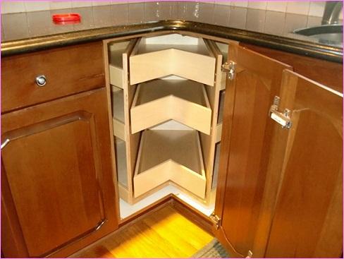 Corner style kitchen Drawers