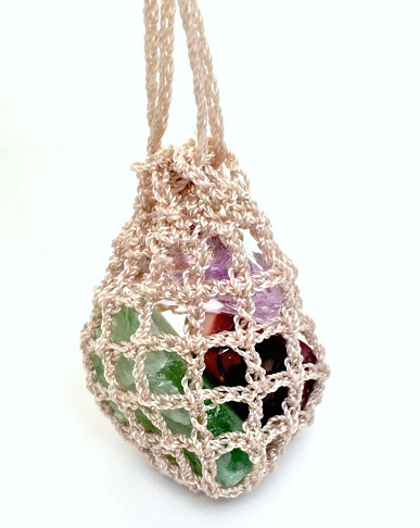Crochet Pouch Locket