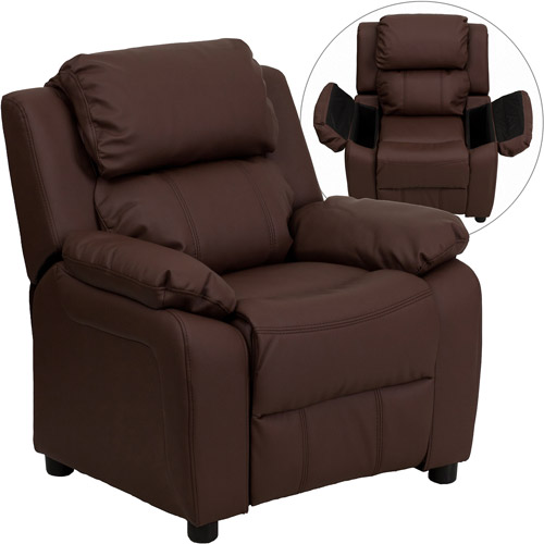 Cup Holder Recliner Chair
