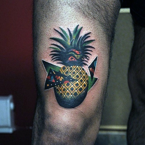 Cute Small Fruity Abstract Tattoos Design