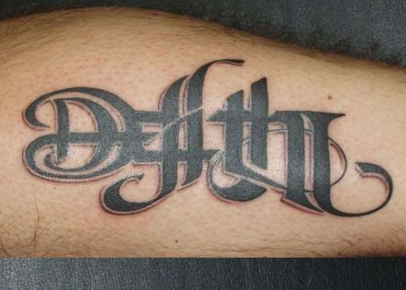 Death life tattoo