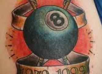 eight ball tattoo designs