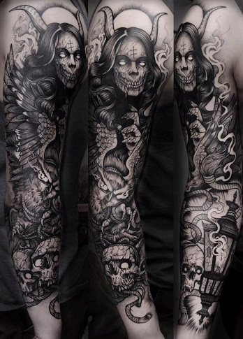 Top 9 Scary Demon Tattoo Designs For Men Styles At Life