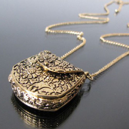 Designer Locket Necklace