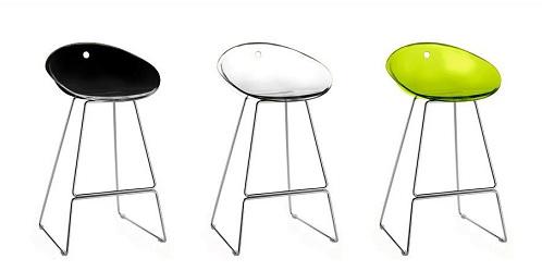 Designer Translucent Bar Stools