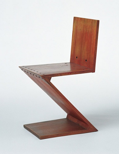 designer wooden chair