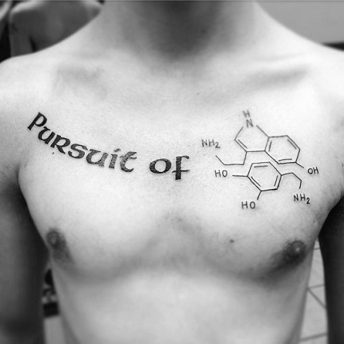 9 stylish chemistry tattoos for and