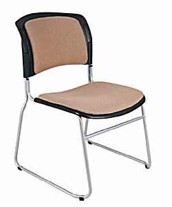 Double Colour Padded Stackable Chairs