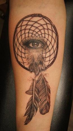 Dream Eye Indication Tattoo