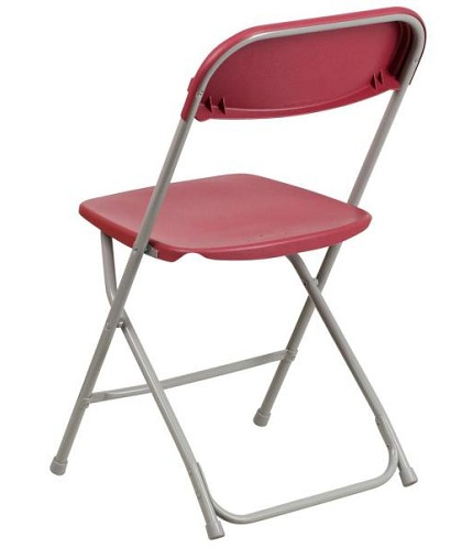 Durable Plastic Pink Folding Chairs