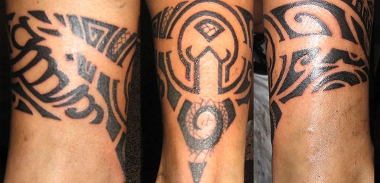 tribal armband tattoos