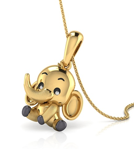 Elephant Style Children's Lockets