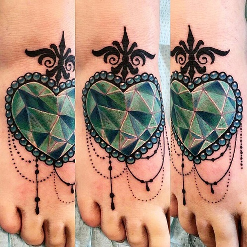 Emerald Jewel Tattoos