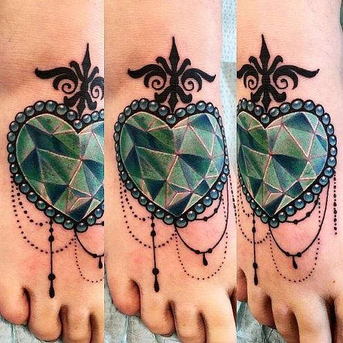 jewel tattoos