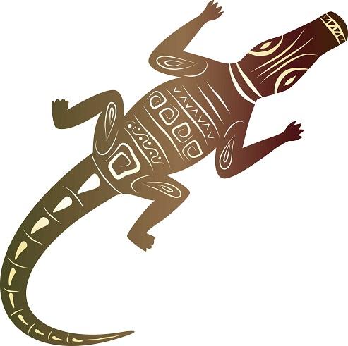 0c7f834e655ab 9 Curious Alligator Tattoo Designs | Styles At Life