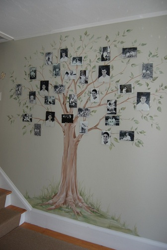 Family Tree Hall Painting