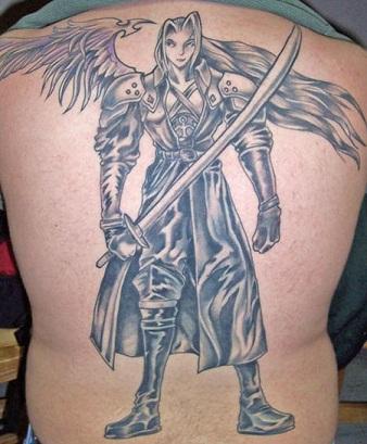 Fantasy warrior Tattoo