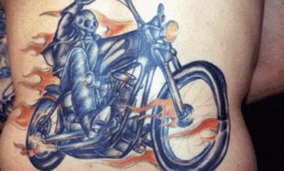 biker tattoo designs