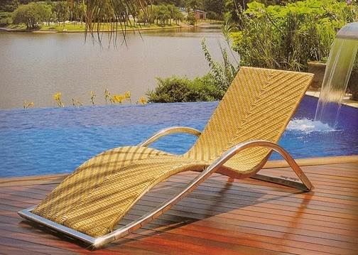 Fiber Pool Chairs