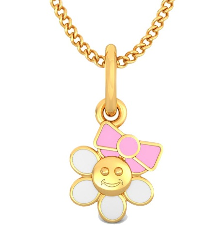 Floral Princess Children's Lockets