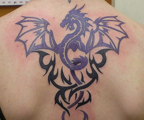 9 Most Stunning Tribal Dragon Tattoo Designs Styles At Life