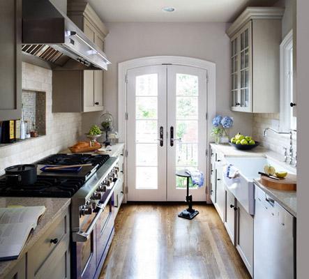 French Window kitchen design