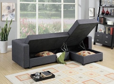 Furniture with storage