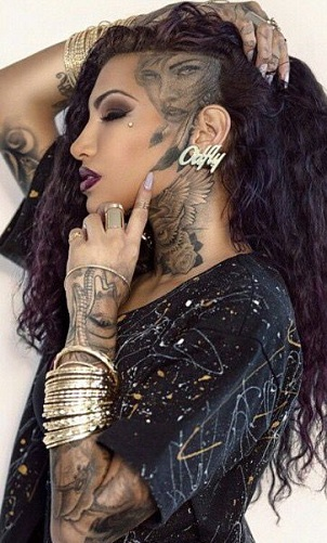 9 Most-Liked Head Tattoos For Women And Men