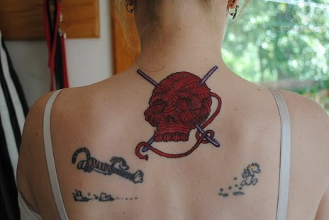crochet tattoos