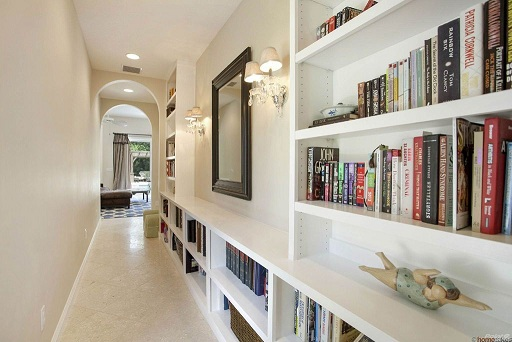 Hallway Book Shelf