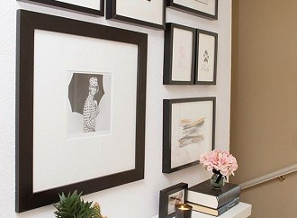 hall shelf designs