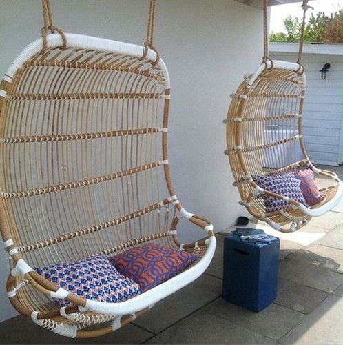 Hanging Bamboo Chair