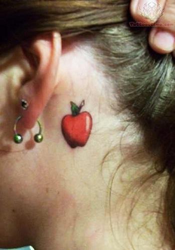 Healthy Food Tattoo Design