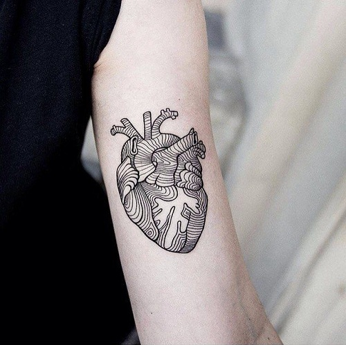 15 extraordinary line work tattoos line tattoos design ideas ForTattoo Line Work